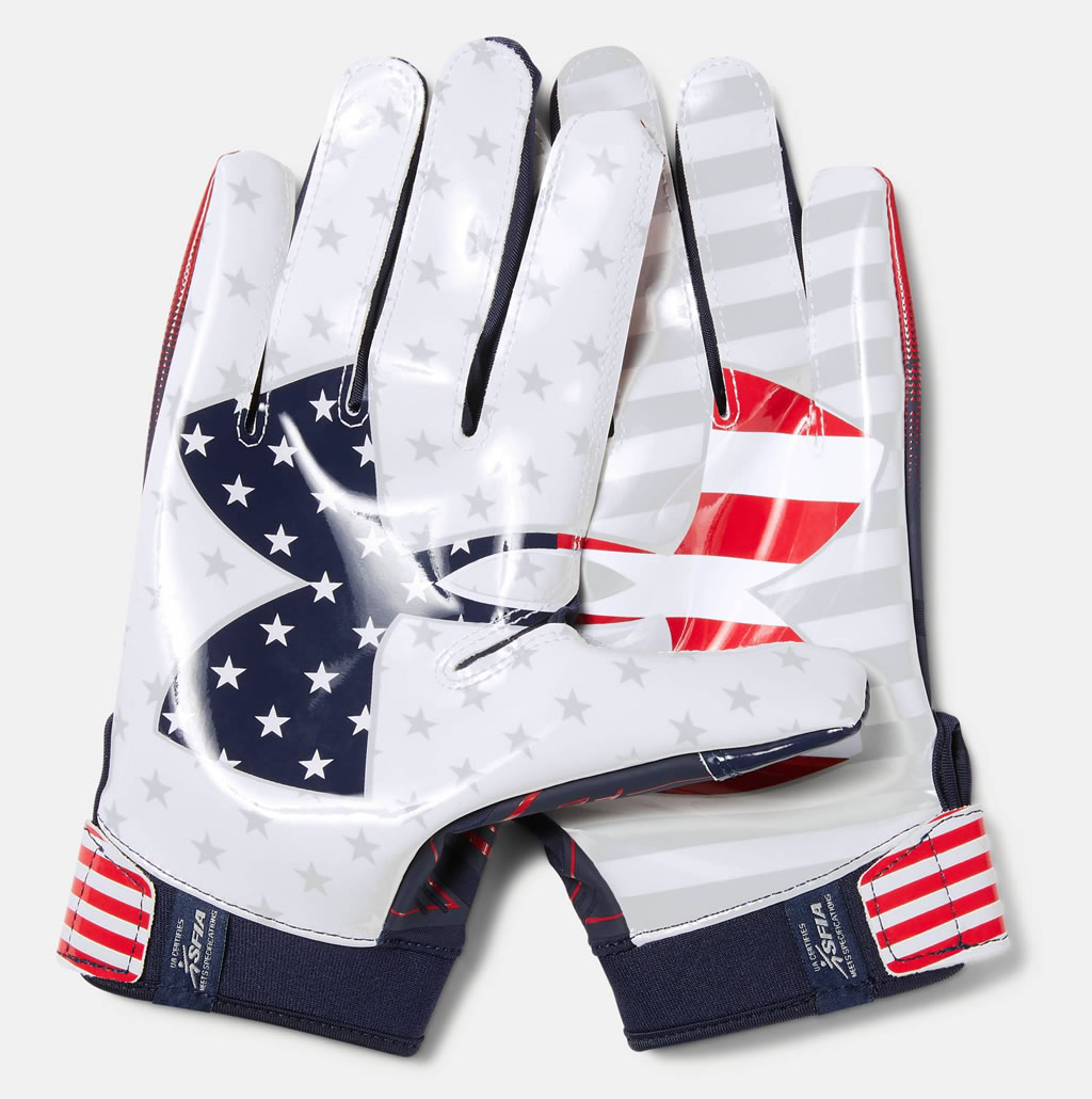 F6 LE Mens Football Glove by UA