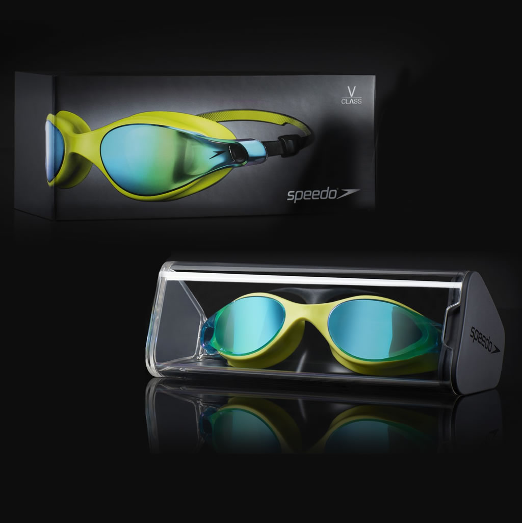 Goggles V-Class Vue Mirror by Speedo
