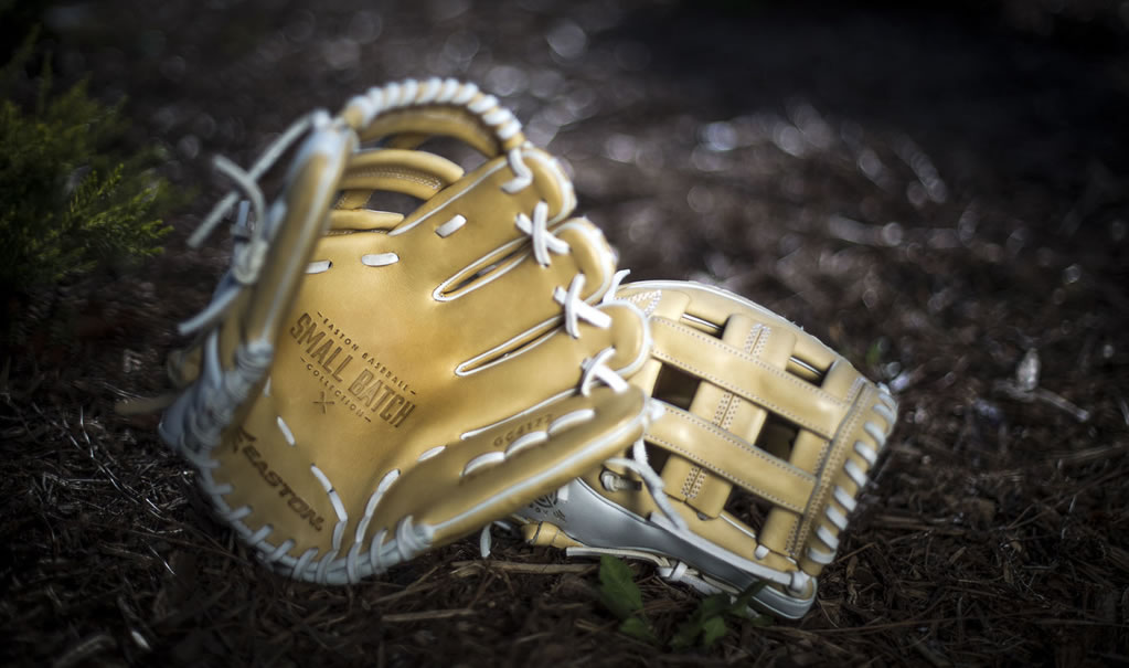 High Quality Leather Baseball Glove by Easton