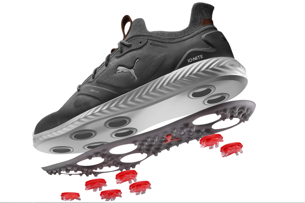 Ignite Disc Waterproof Golf Shoes by Puma