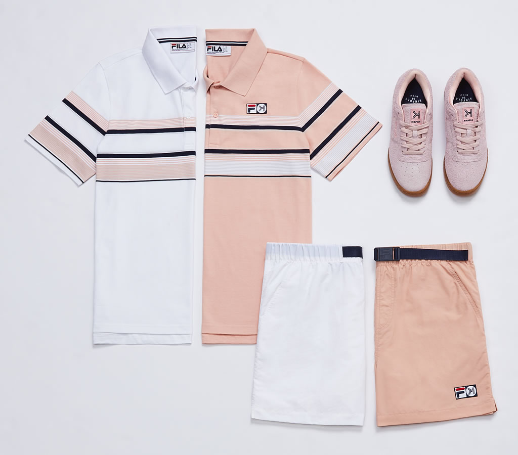 New Shoe and Apparel Collection By Fila And Kinfolk