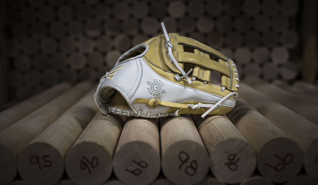 Premium Leather Baseball Glove by Easton