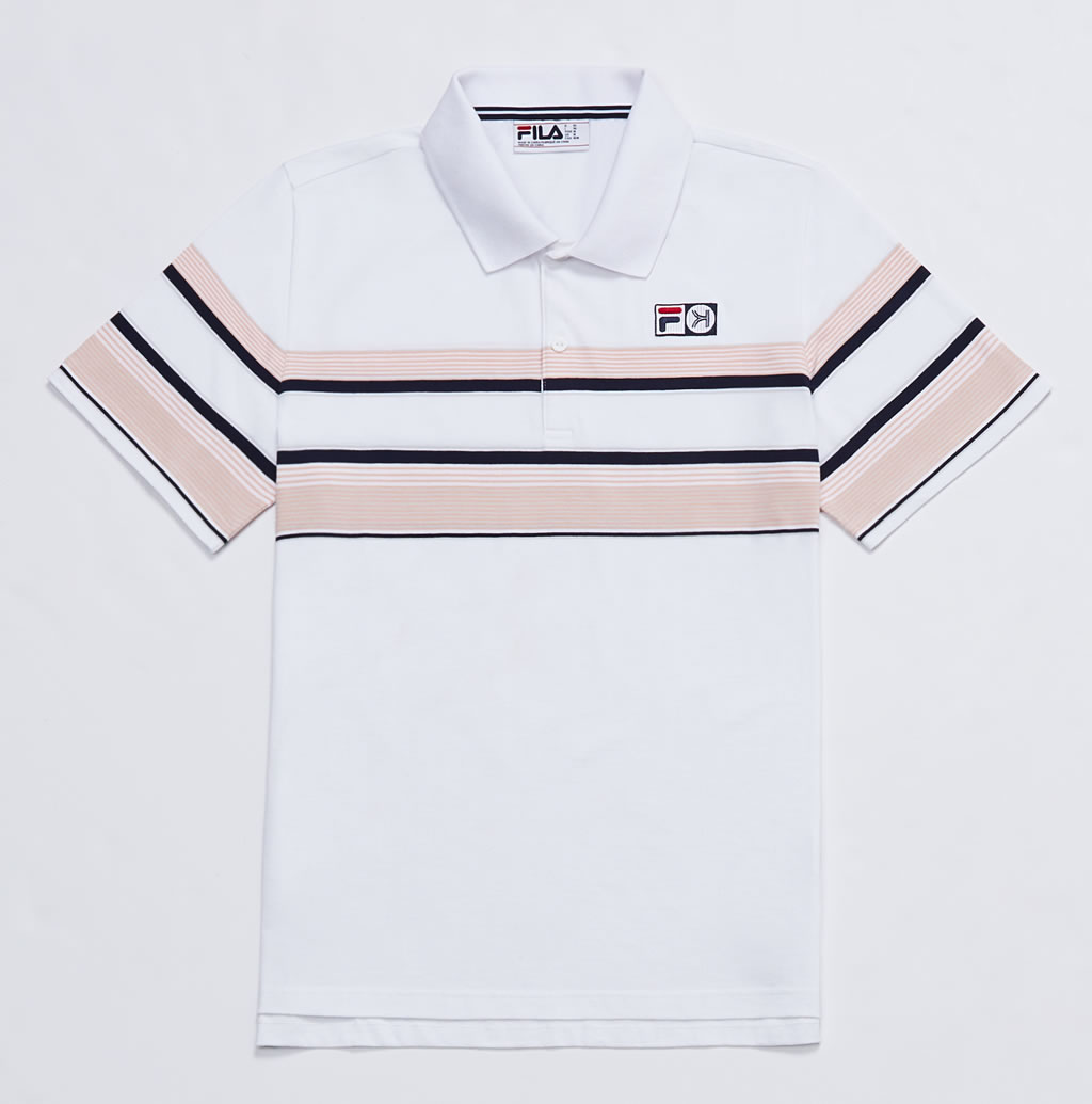 Shirt, Collection By Fila And Kinfolk