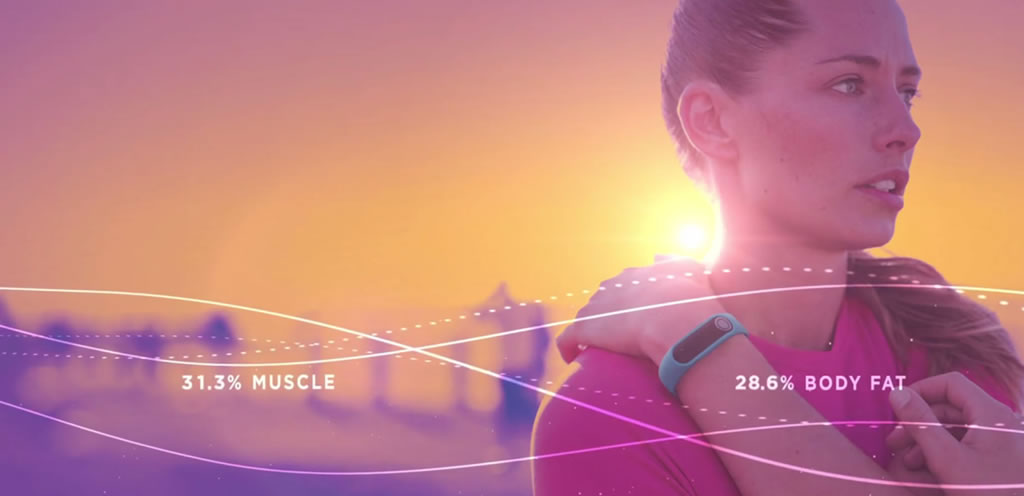 Touch fitness tracker by TomTom, Body Fat