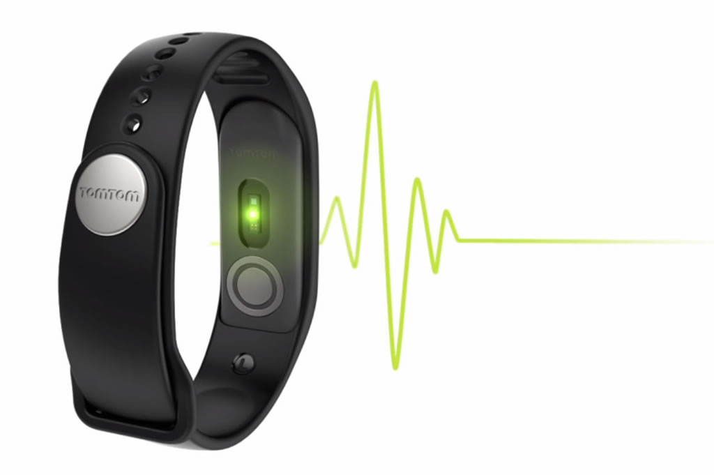 Touch fitness tracker by TomTom