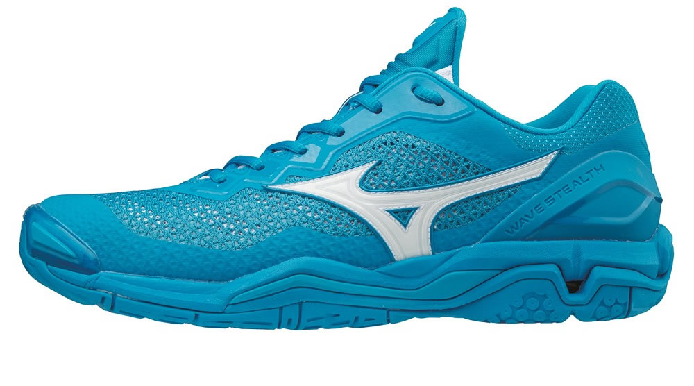 Wave Stealth V Hnadball Shoes by Mizuno