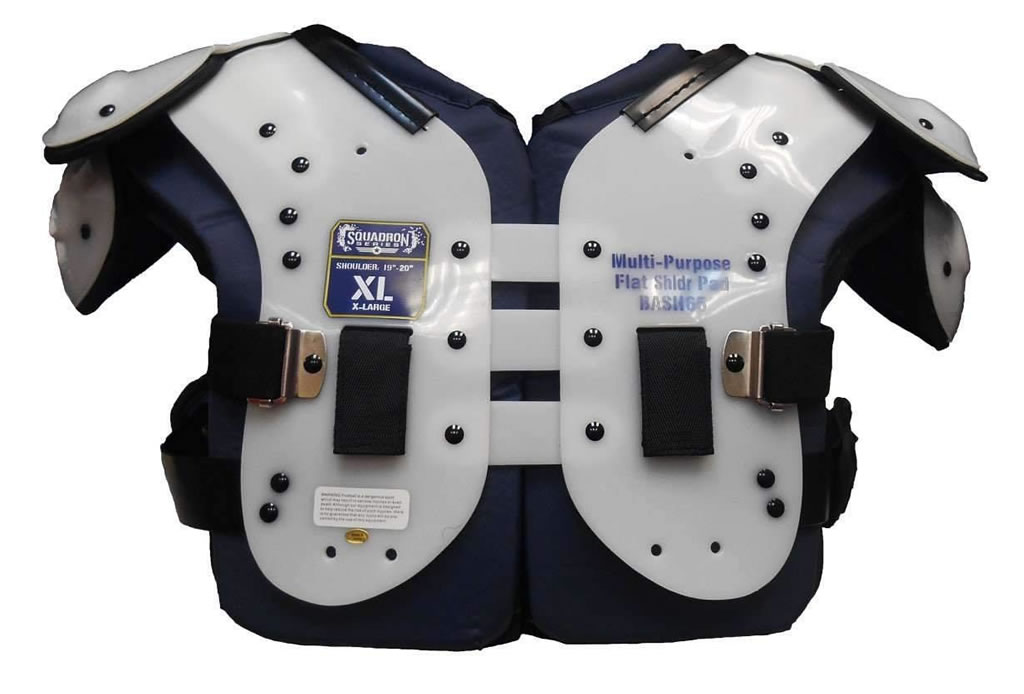 Adult Squadron Series Shoulder Pads by Bike