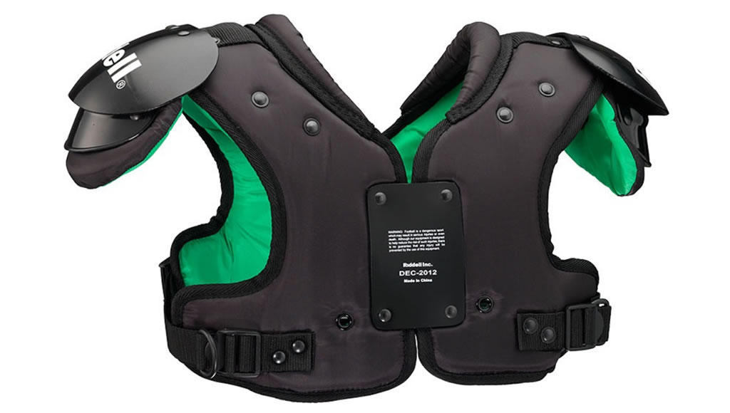 Quest Youth Football Shoulder Pads by Riddell