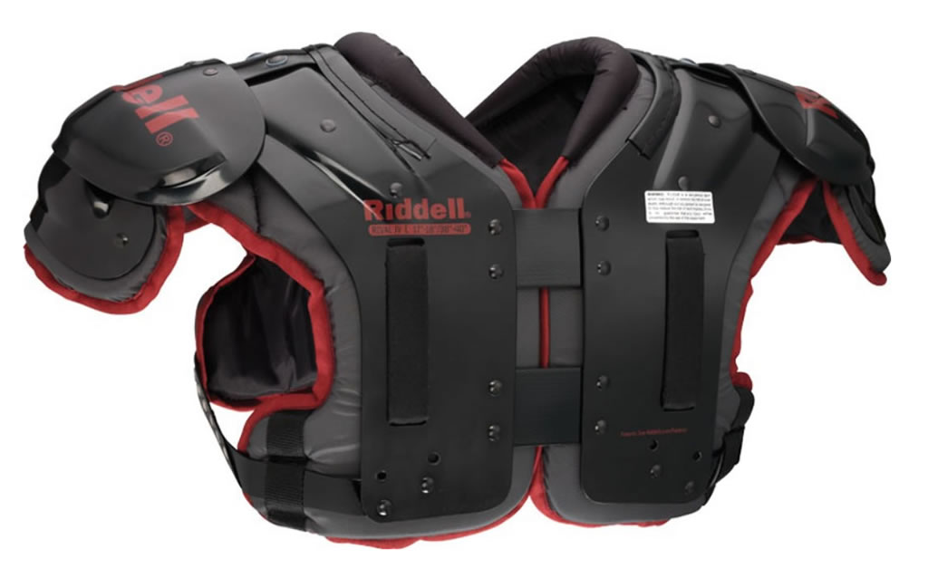 Rival JV Football Shoulder Pads by Riddell