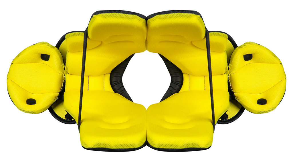 Shock Wave Pro Shoulder Pads by Champro, Cushion