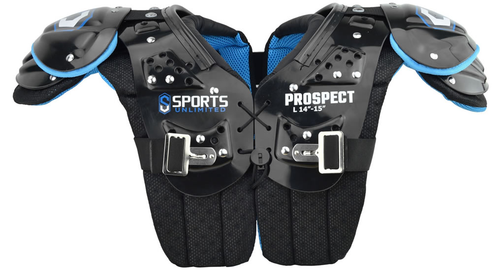 Youth Football Shoulder Pads by Sports Unlimited