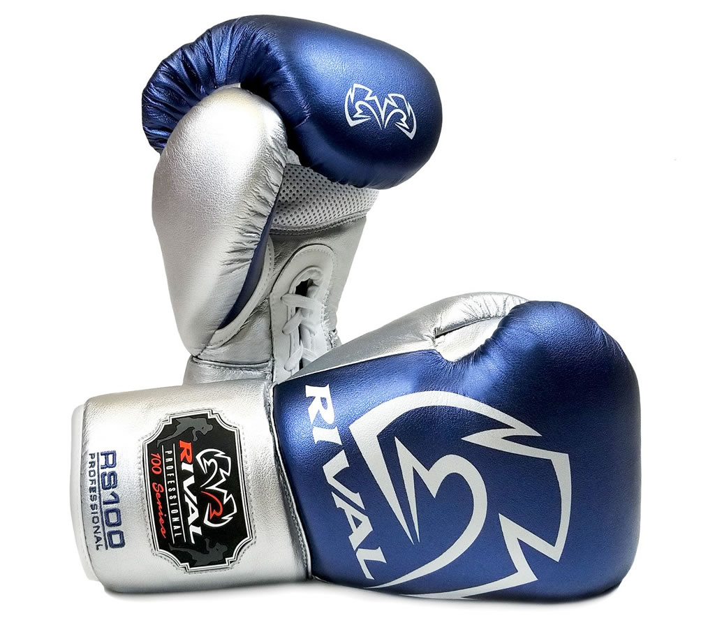 Silver Rival RS100 Professional Sparring Gloves